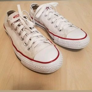 WOMEN'S CONVERSE ALL STAR SNEAKERS SIZE 6.5 WHITE
